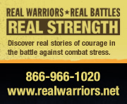 Visit Real Warriors Web Site