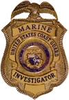 Marine Investigator Badge