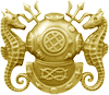 Master Diver Officer Badge